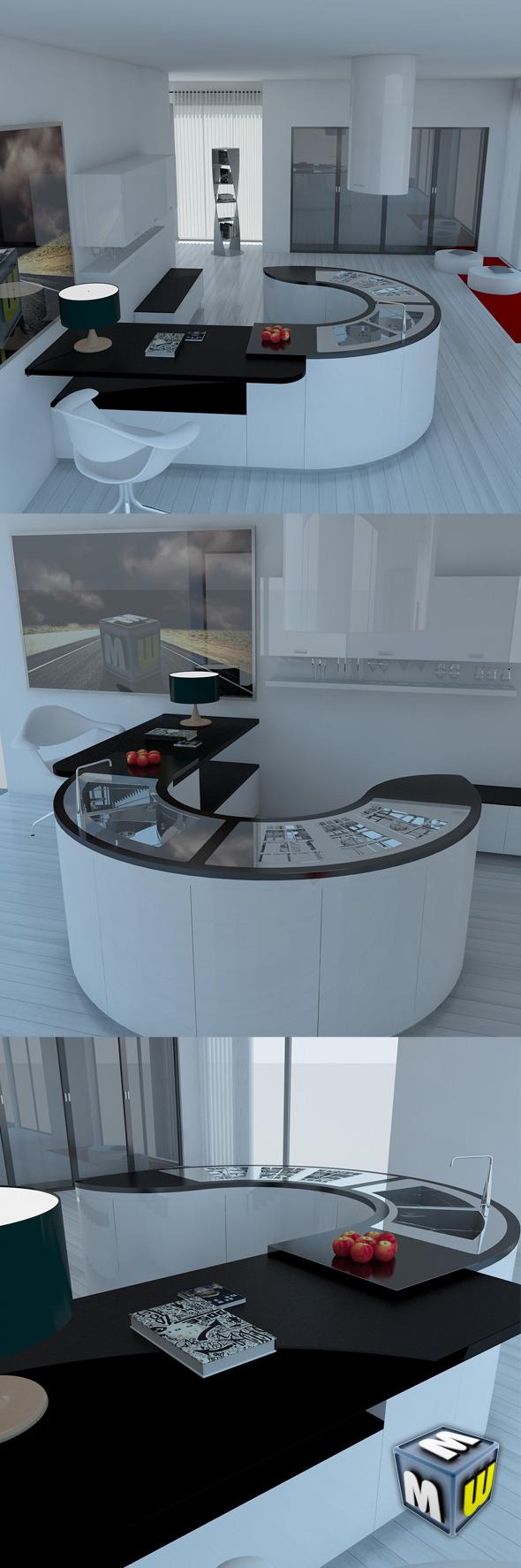 Kitchen Modern 2 MAX 2011
