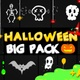 Halloween Party Elements   Motion Graphics Pack