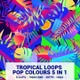 Tropical Loops Pop Colours  5 In 1