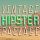 Vintage Hipster Pack