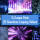 Shocking Electric Backgrounds VJ Loop Pack - 20 Loops