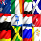12 Looped Animated World Fabric Flags (HD) 2
