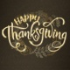 Happy Thanksgiving Text Animation