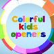 Colorful Flat Kids Openers