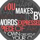 Glance Typography