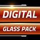 Digital Glass Lower Thirds