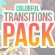 Colorful Shapes Transitions Pack