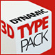 3D Dynamic Typography Pack