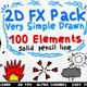 2D FX Pack Is Very Simple Drawn