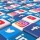 Social Media Blocks Background - Version 2