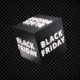 3D Cube Black Friday Looped
