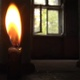Extinguished Candle In A Haunted House