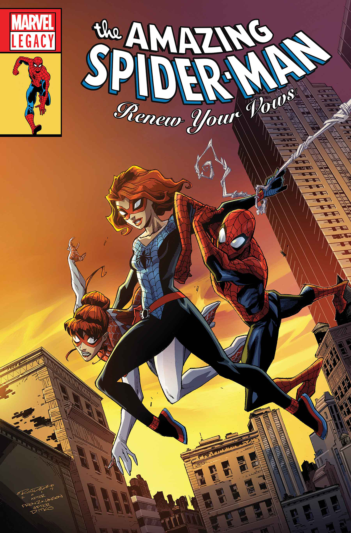 SEP170819 AMAZING SPIDER MAN RENEW YOUR VOWS 13