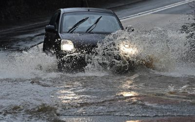 Storm Christoph caused widespread surface water flooding