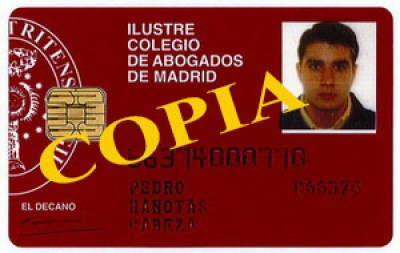 Carnet Colegiado Pedro 66374