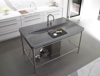 sink countertop combo prevost