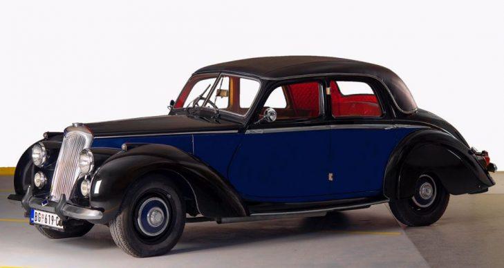 prevoz putnika oldtajmer Riley RME 1954