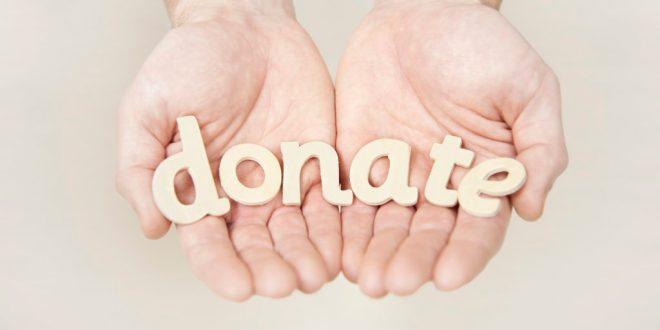 donates