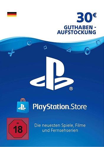 Playstation Network Card Psn 30 Eur German Preybox