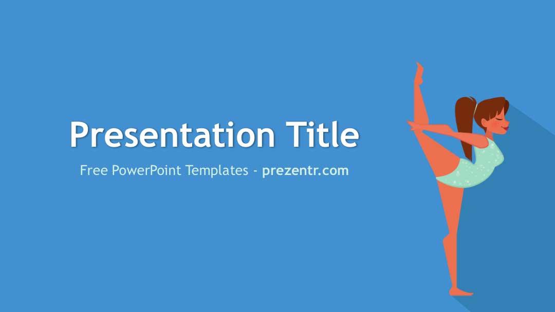 Free Gymnastics PowerPoint Template Prezentr PPT Templates