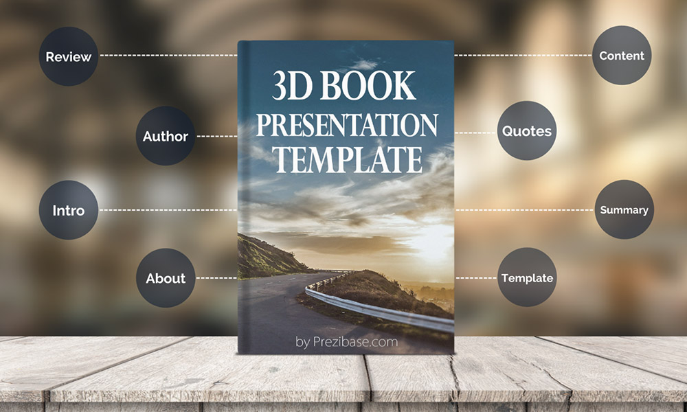 Book Presentation Prezi Template Prezibase