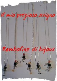 Bamboline di bijoux