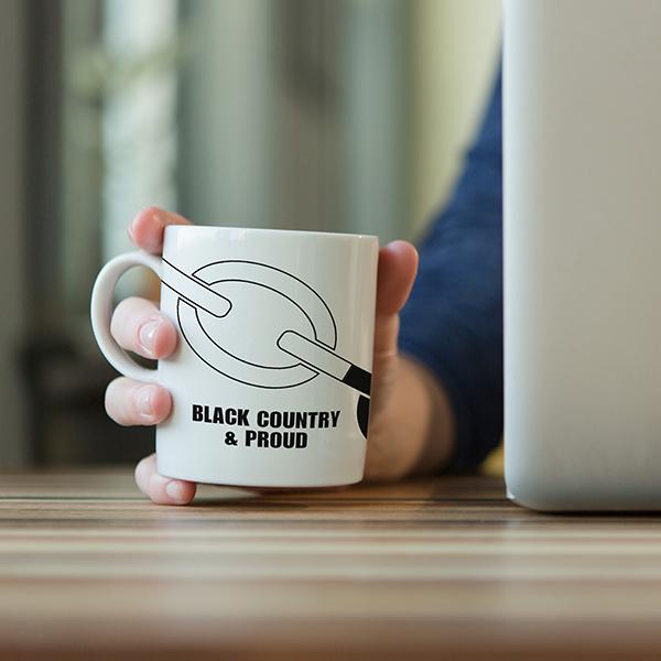 Black Country & Proud Mug
