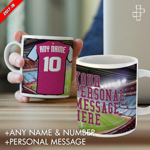 PERSONALISED ASTON VILLA MUG