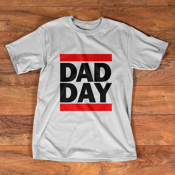 HIP HOP STYLE T-SHIRT DAD DAY