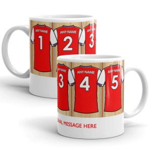 Personalised Arsenal 2020 Football Mug
