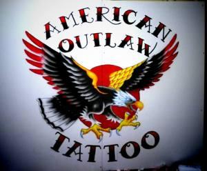 american outlaw tattoo