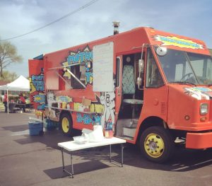 Mother Truckin Tasty food truck PRFM Lorain fall 2018 show
