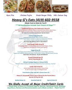 Heavy Gs food truck prfm lorain Xmas show