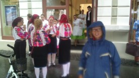 Day 1 - rain but we enjoyed the folklore festival