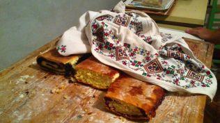 mom had been baking!