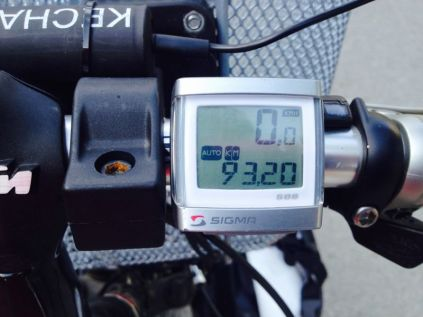 we do that a lot lately - 100km in a day