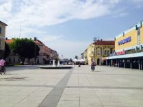 downtown Slavonski Brod - Croatia's largest city without international airport according to wikitravel :)
