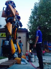 transformers all over Podgorica