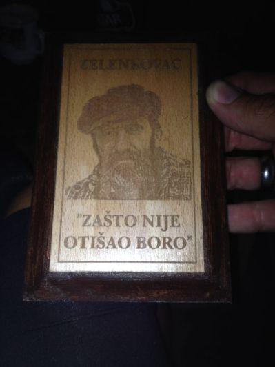 Boro - Zelenkovac' mastermind