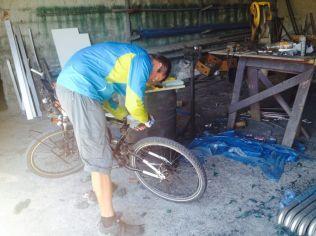 preparation for welding