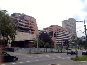 nato bombed ministry buildings downtown