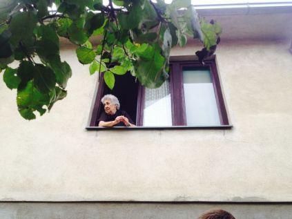 at Igor's baba's house