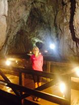 Nastya's first cave - couldn't believe it when she told me!