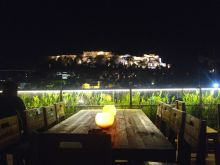 Athens at night - Acropolis