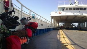 ferry to Patras