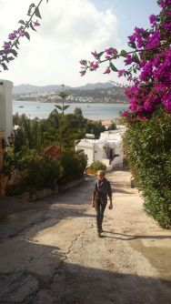 hiking to Bodrum