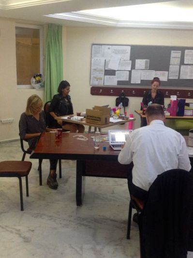 language teacher prep room