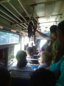 our 251 bus to Negombo