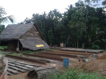 every 3rd house produces clay bricks