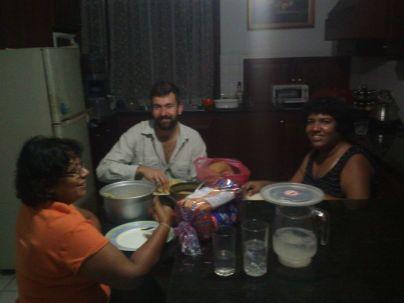 dinner with Janakas family